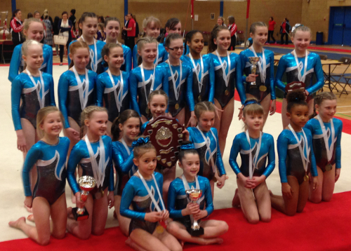 The Greater Manchester Team - Overall Champions