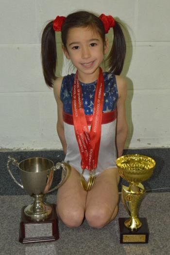 Ellen Ijima - Development Group Champion Winner of the Grades Cup