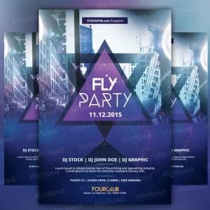 fly-party-free-psd-flyer