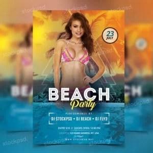 beach-party-free-psd-flyer-768x768