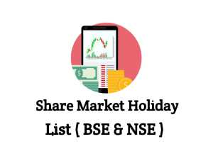 Share Market Holiday List 2020 in India - Stock Market NSE(Nifty), BSE(Sensex), MCX(Commodity) & NCDEX Holidays
