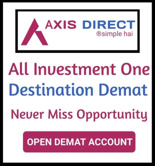 Open Demat Account With AxisDirect