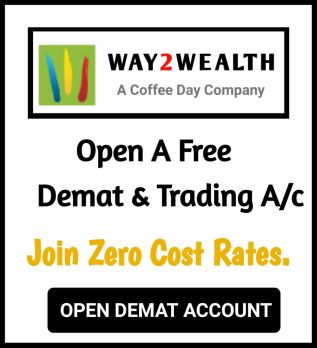 Open Demat Account With Way2Wealth