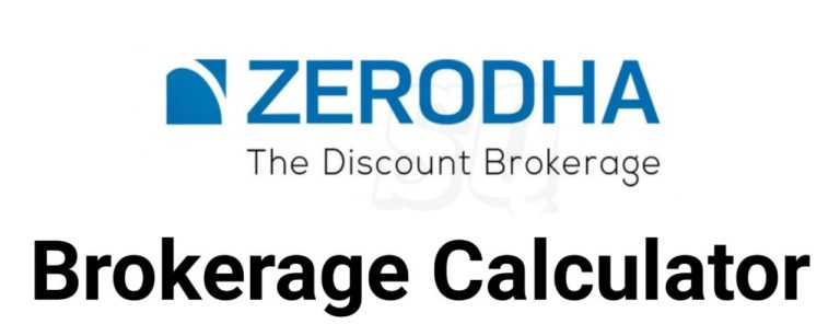Zerodha Brokerage Calculator Online
