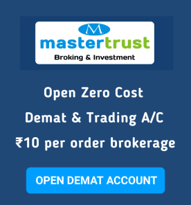 Demat Account Opening With Master Trust