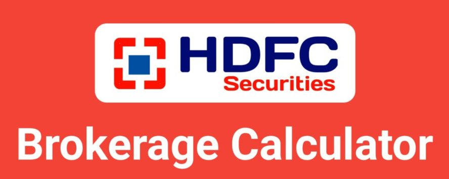 HDFC Securities Brokerage Calculator Online