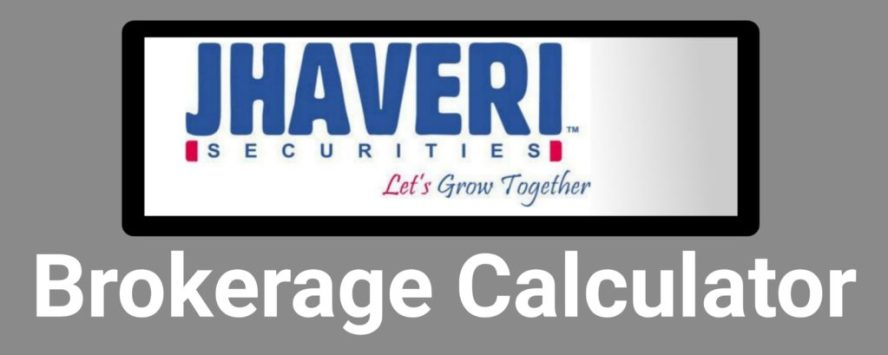 Jhaveri Brokerage Calculator Online