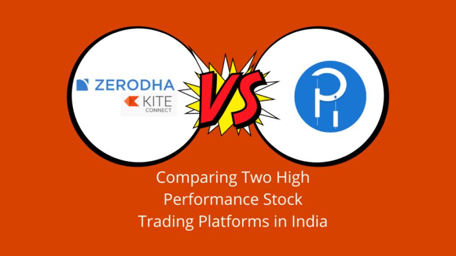 Zerodha Kite VS Tradelab Pi compare