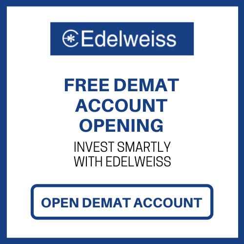 open Edelweiss demat acc