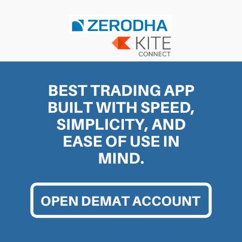 open zerodha kite demat account