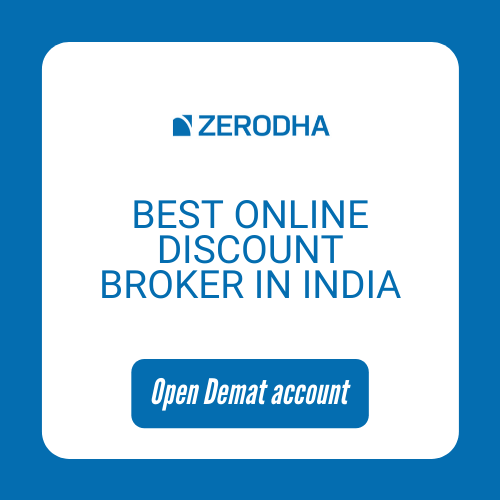 Open Zerodha Demat Account