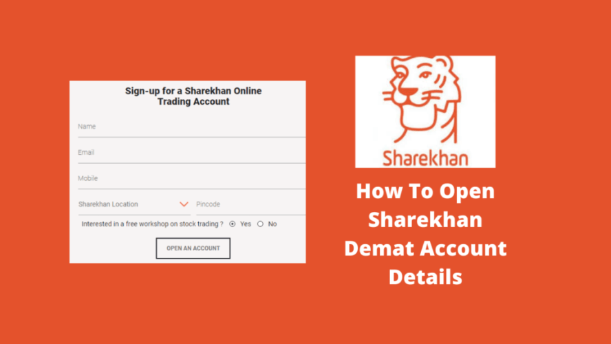 Sharekhan Demat Account Opening