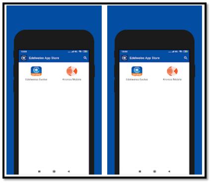 Edelweiss App Store Screenshot
