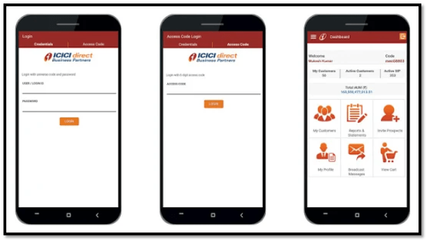 IDirect Partner App Screenshot