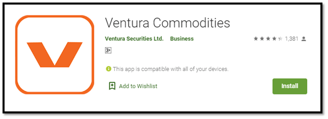 Ventura Commodities App