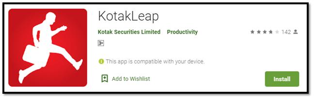 Kotak Leap App