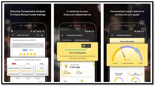 Angel Bee App Interface