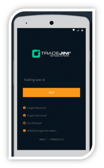 Tradejini Mobile App