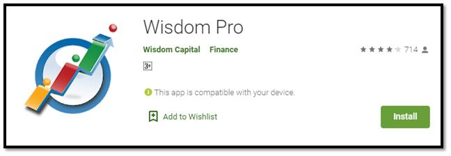 Wisdom Pro – Mobile Trading App