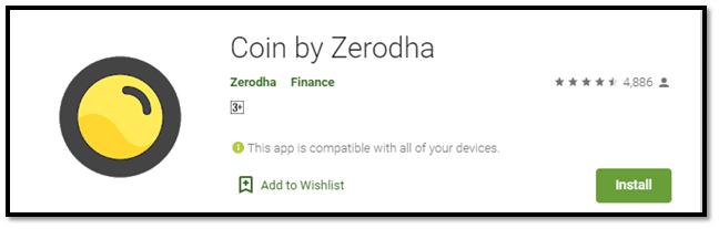 Zerodha Coin App