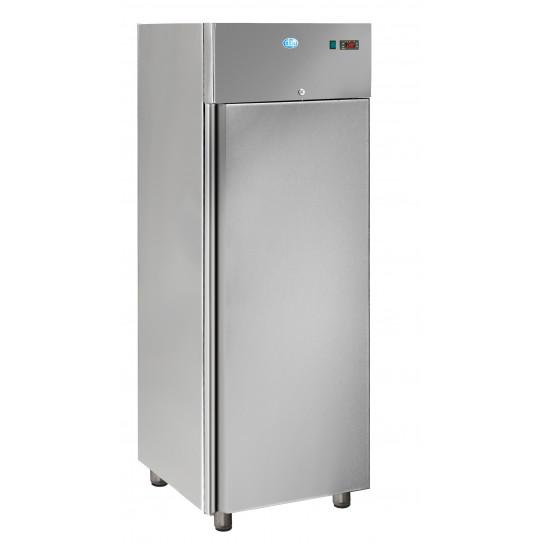 armoire froide refrigeree 700l tropicalises gn2 1 positive 1 porte inox aig700tn