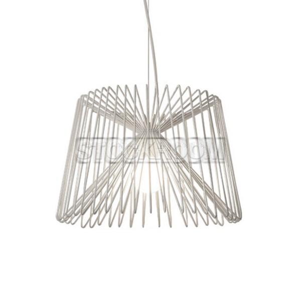 Bertrand Industrial Style Wire Pendant Lamp :STOCKROOM