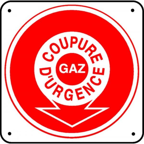 Pictogramme Coupure DUrgence Gaz Stocksignes