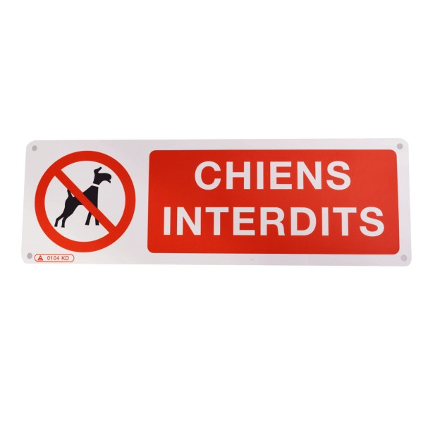 Pictogramme Chiens Interdits Stocksignes