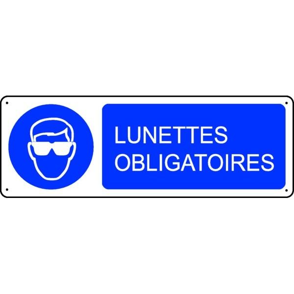 Panneau Lunettes Obligatoires Stocksignes