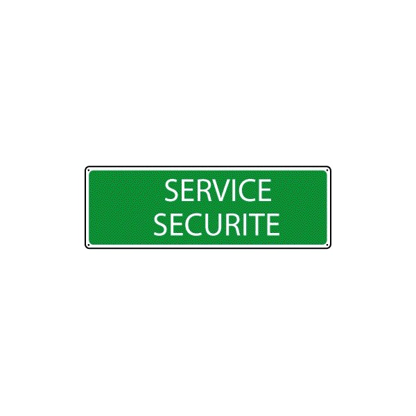 Panneau Service Scurit Stocksignes