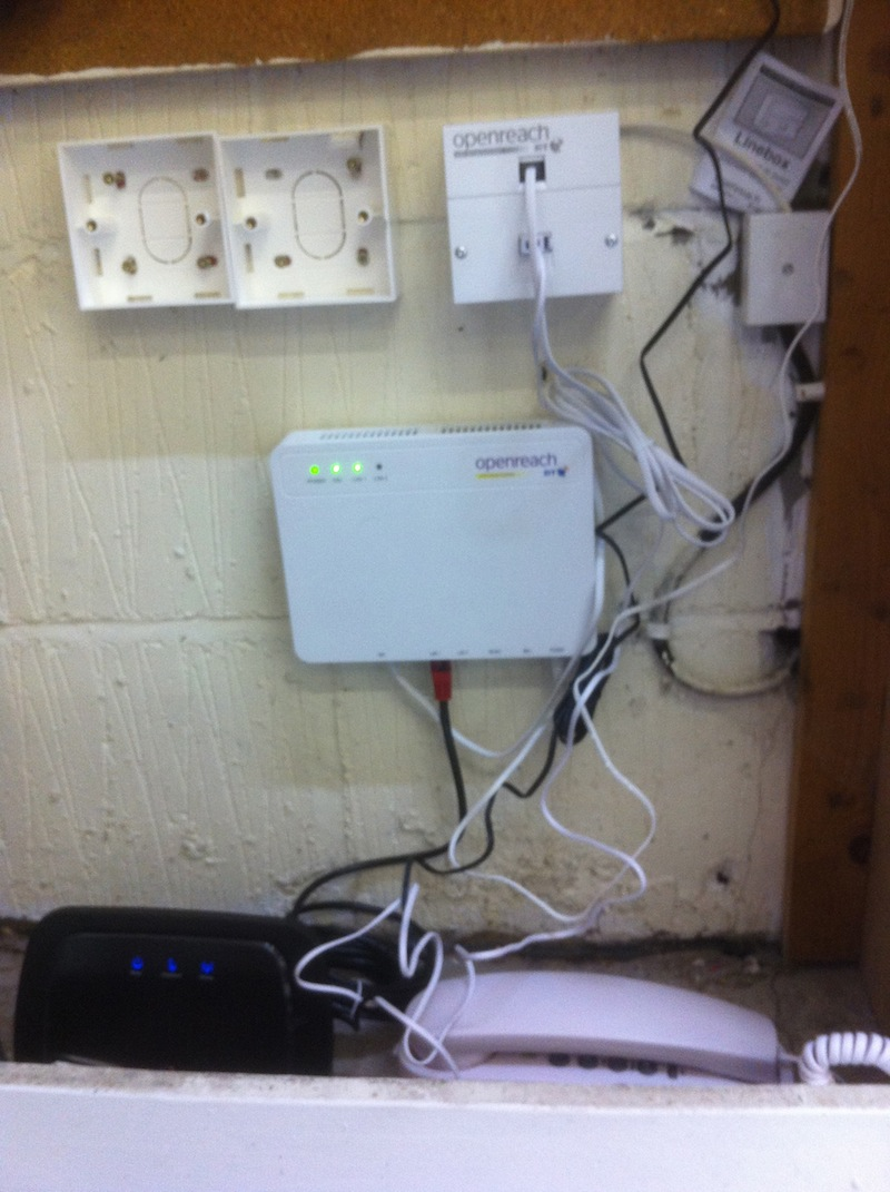 hight resolution of bt fttc install