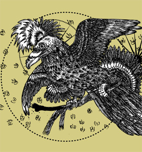 Tee Vector T-shirt Design with Bird