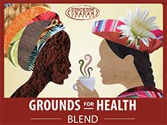 Grounds for Health Blend Coffee from Stockton Graham & Co.