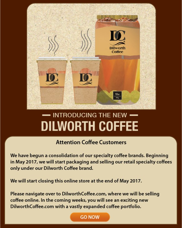 Visit DilworthCoffee.com for your coffee needs