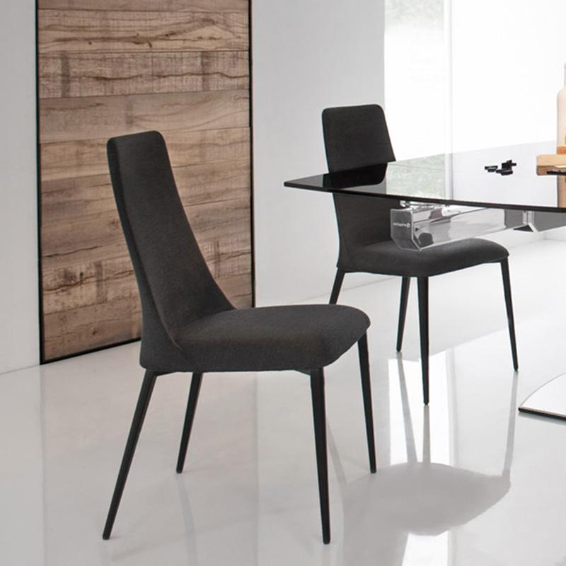 Calligaris Etoile Denver Fabric & Metal Chair