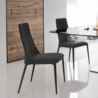 Calligaris Etoile Denver Fabric & Metal Chair