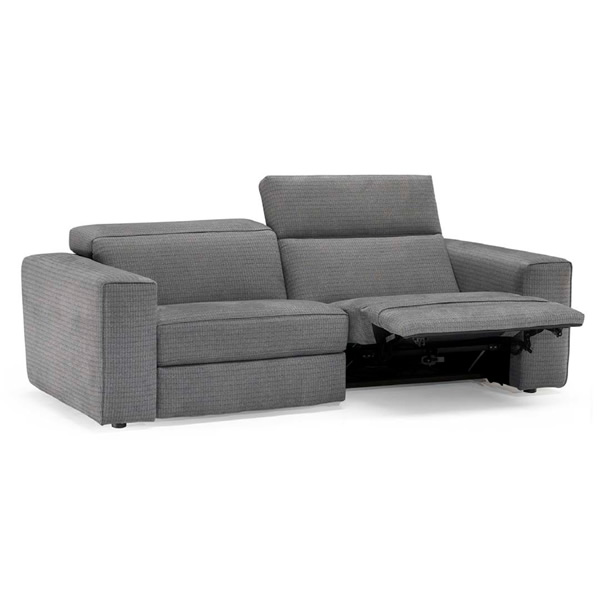 power sofa recliner mechanism genuine leather modern sectional natuzzi italia brio electric