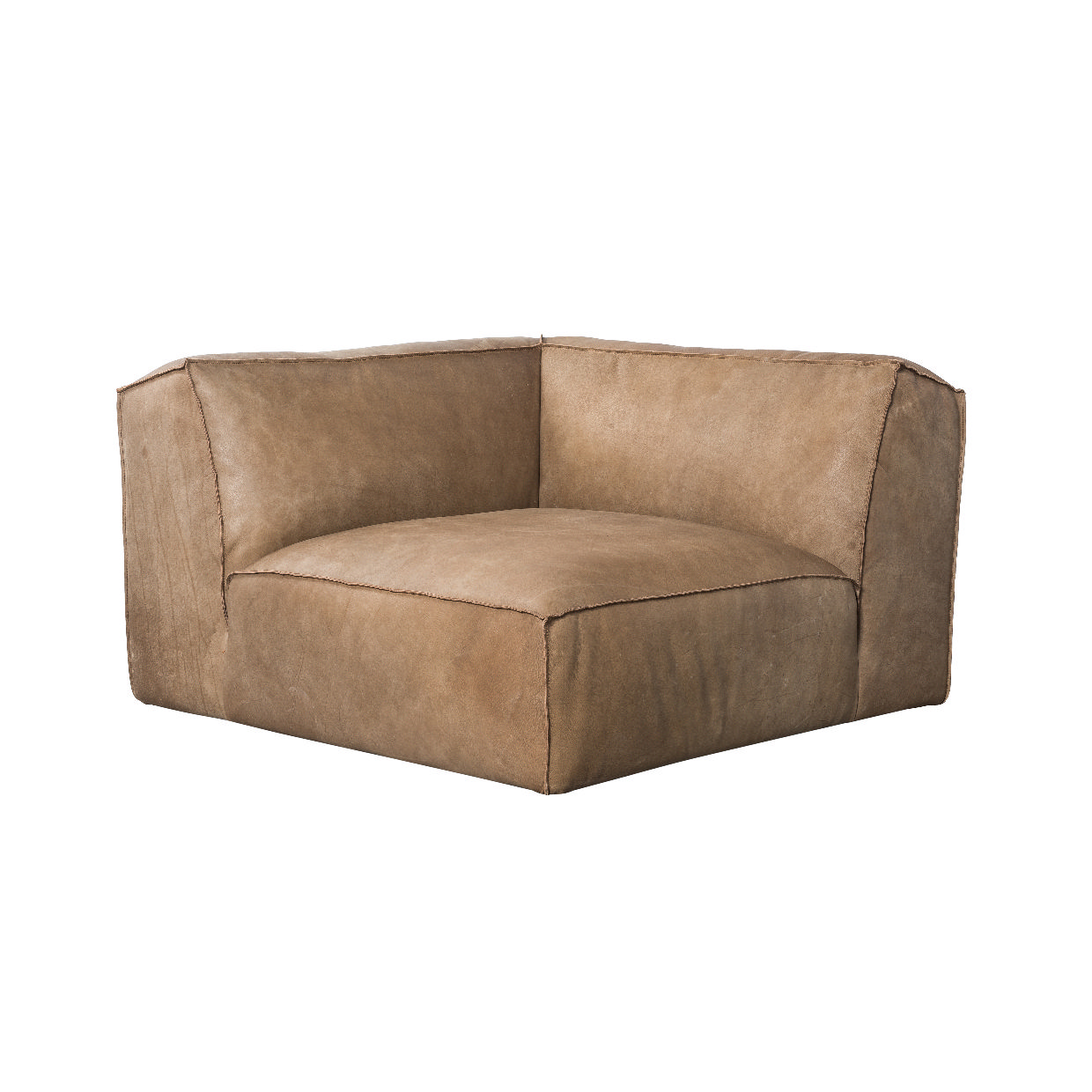 right angled sectional sofa 5 inch dark walnut plastic tapered legs timothy oulton nirvana corner - large