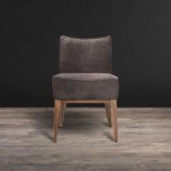 Grey Leather Recliner Chair Uk Papasan Frame Repair Timothy Oulton Creek Dining