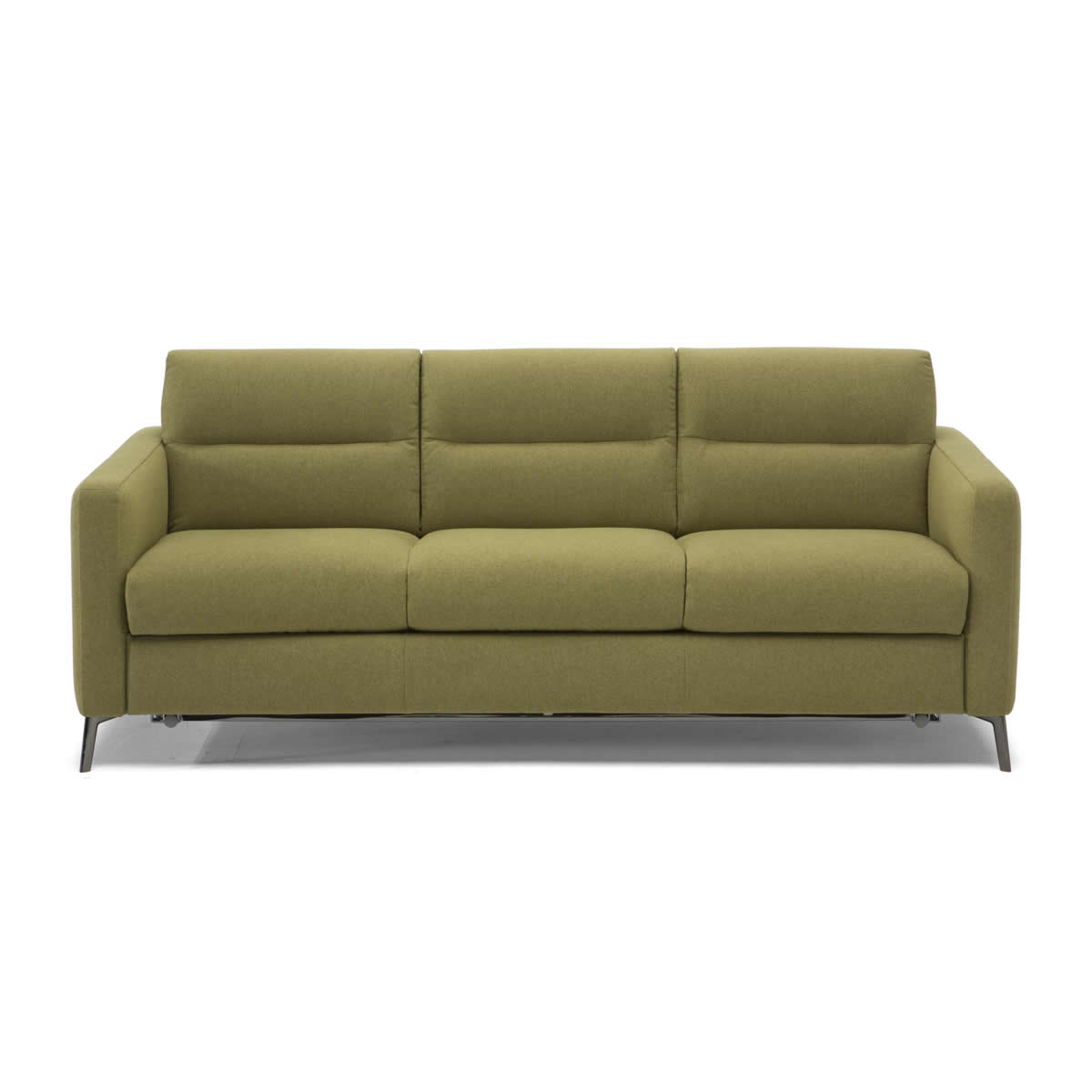 large couch sofa bed table between wall and natuzzi editions zonna