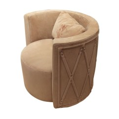 Quilted Swivel Chair Cosco Step Stool Visionnaire Kingsley Armchair