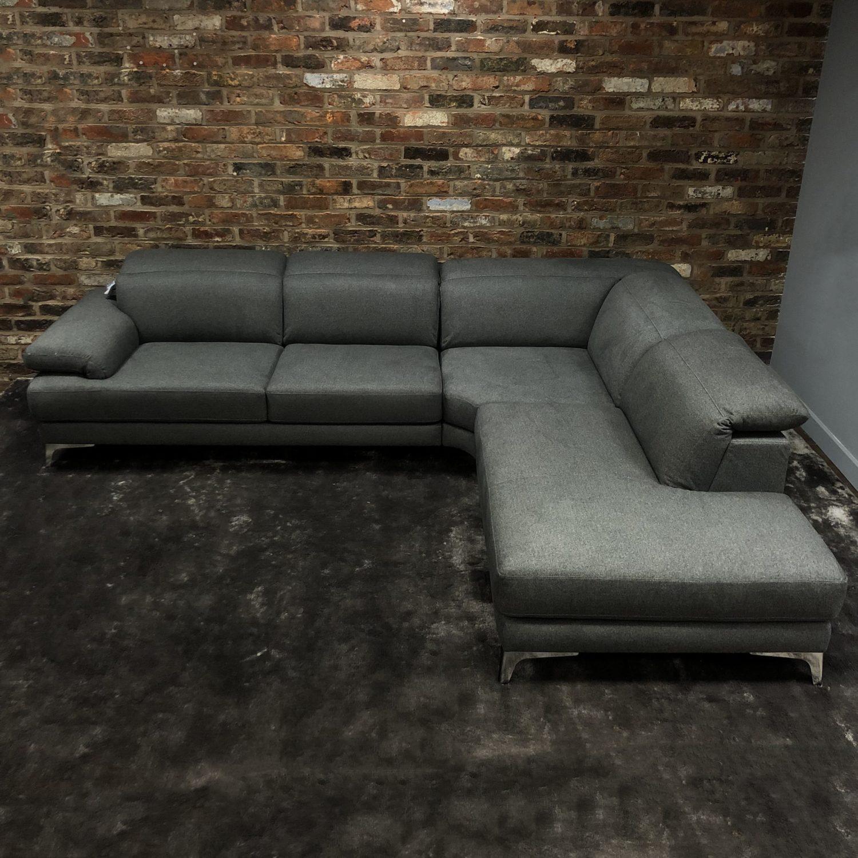 natuzzi lia fabric sleeper sofa reviews chocolate sectional editions sperzana left hand corner