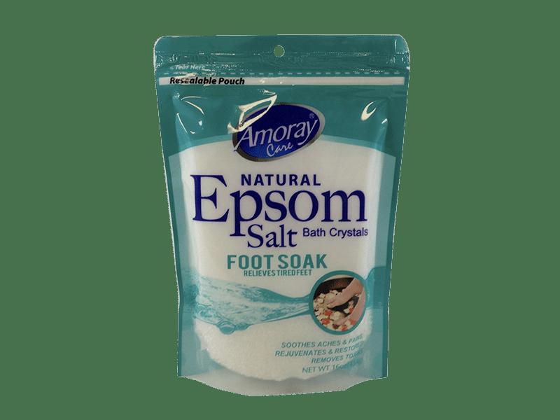 Amoray Care Natural Epsom Salt Foot Soak - Stock Up Market