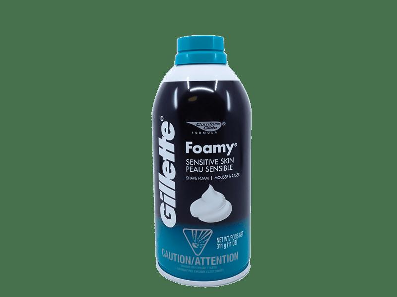 Gillette Foamy Sensitive Skin Shave Foam - Stock Up Market
