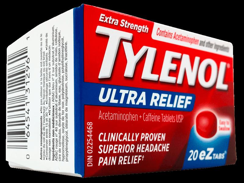 Tylenol Ultra Migraine Pain Relief - StockUpMarket