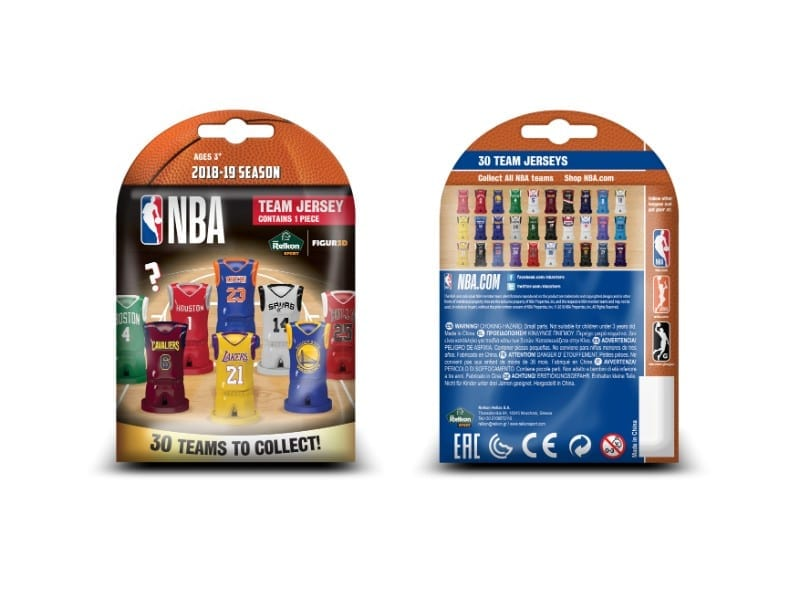 buy online c8d00 f81aa NBA Official Collector's Team Jerseys Lucky Bags! (Box of 24)