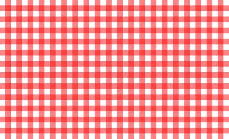 Red And White Tablecloth Pattern Free Stock Photo By