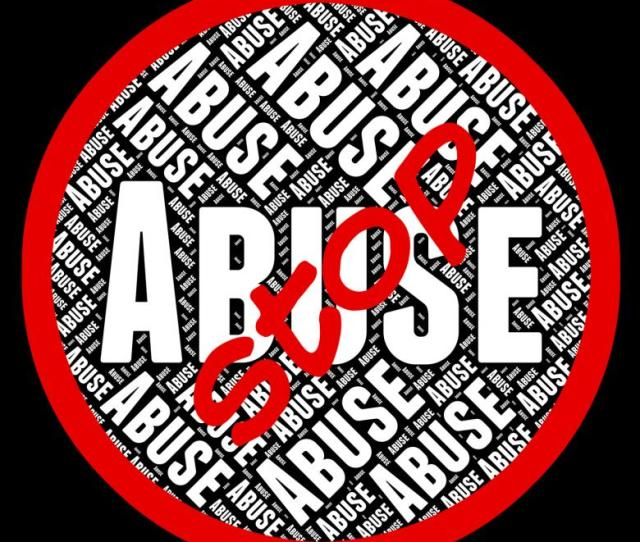 Free Stock Photo Of Stop Abuse Represents Warning Sign And Abused Created By Stuart Miles