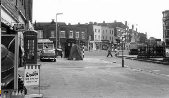 Stockwell Binfield junction in c1970