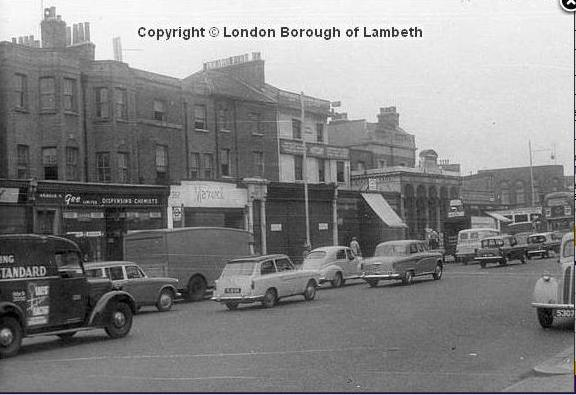 Stockwell junction in 1955